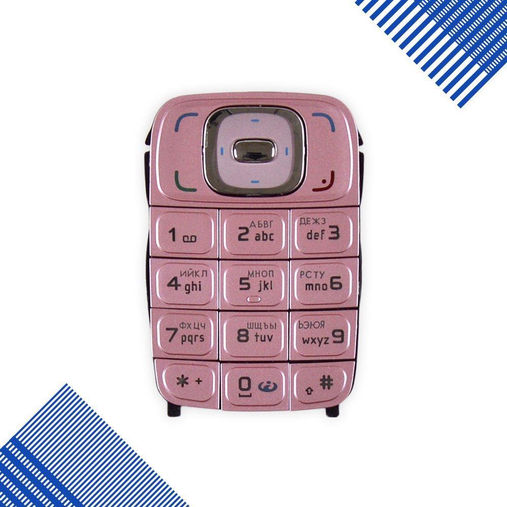 Клавиатура Nokia 6131, цвет розовый