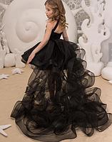 Платье для девочки со съемным шлейфом., фото 6