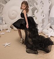 Платье для девочки со съемным шлейфом., фото 8