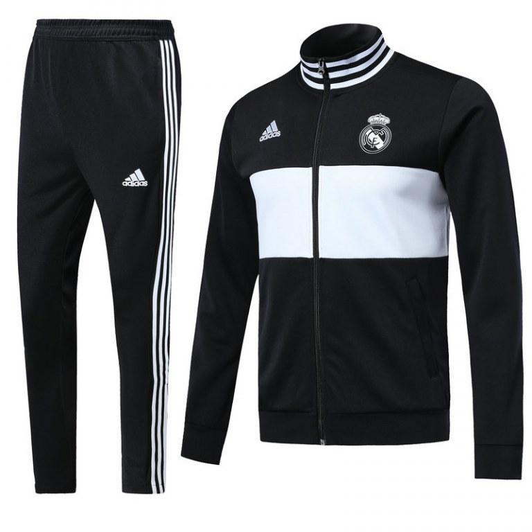 Спортивный костюм Реал Мадрид  2018-2019  черный
