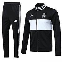 Спортивный костюм Реал Мадрид  2018-2019  черный, фото 1