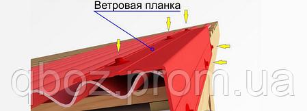 Кровельное покрытие Керамопласт - Ветровая доска, фото 2