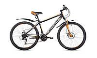"""Велосипед горный Intenzo Forsage 26"""" (черно-оранжевый с серым)"""