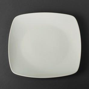 Тарелка квадратная фарфоровая Helios 24*24 см  (4443)