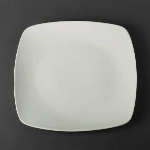 Тарелка квадратная фарфоровая Helios 24*24 см  (4443), фото 2