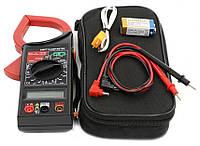 🔝 Мультиметр, токоизмерительные клещи, DT-266FT.Это, указатель напряжения, тестер. Цифровой | 🎁%🚚