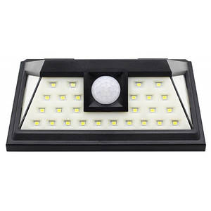 LED світильник 8W на сонячній батареї 6000K 390lm IP65