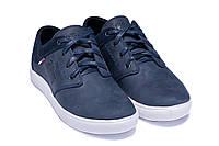 Мужские кожаные синие кеды Hilfiger Denim USA Blue 40