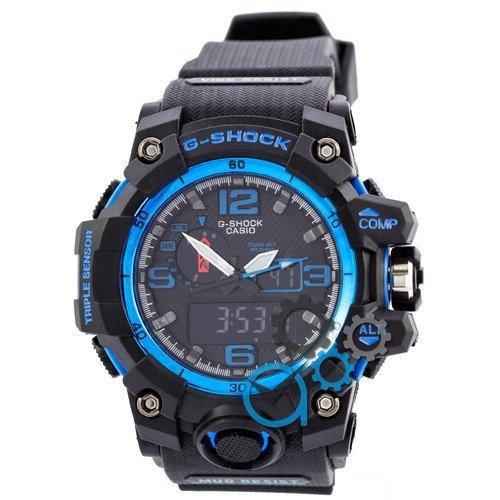 Наручные мужские часы Casio G-Shock GWG-1000 Black-Blue