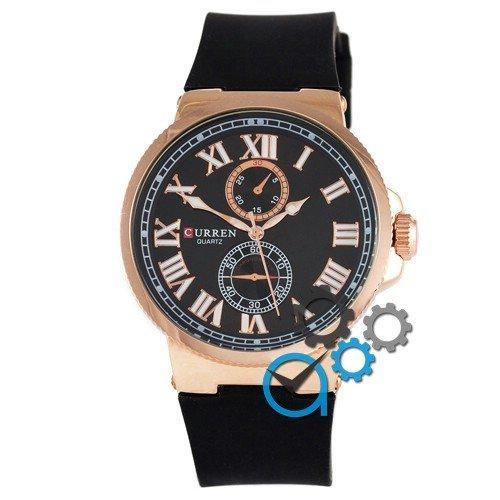 Наручные мужские часы Curren Gold-Black 8160-1