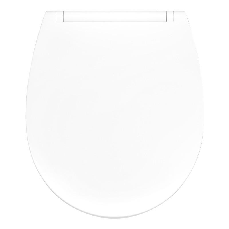 Крышка для унитаза белая с микролифтом  SALSA AWD02181442