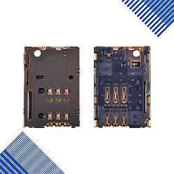 Разъем сим карты Lenovo S6000