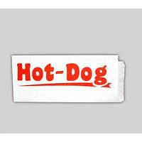 конверт для хот- дога 200х100х0 (крафт белый 40гр.)