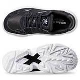 Женские кроссовки Adidas falcon black & white, фото 5