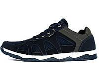 Кросівки літні чоловічі з сіткою синього кольору кроссовки  (Кс-15с)