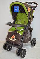 Детская коляска Sigma S-K-6F Brown-Green, фото 1