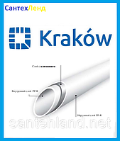 Труба полипропиленовая Krakow Fiber DN 25 PN 20 (Стекловолокно)
