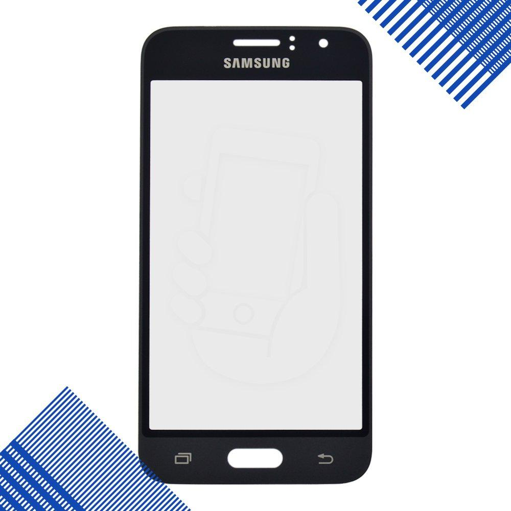 Стекло корпуса для Samsung J120H DS Galaxy (2016), цвет серый