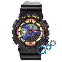 Наручные мужские часы Casio G-Shock GA-110 Black-Multicolor