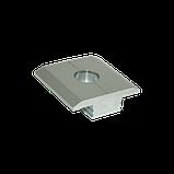 Алюминиевый профиль — Прижим межмодульный алюминиевый 33х12/30мм Б/П, фото 2