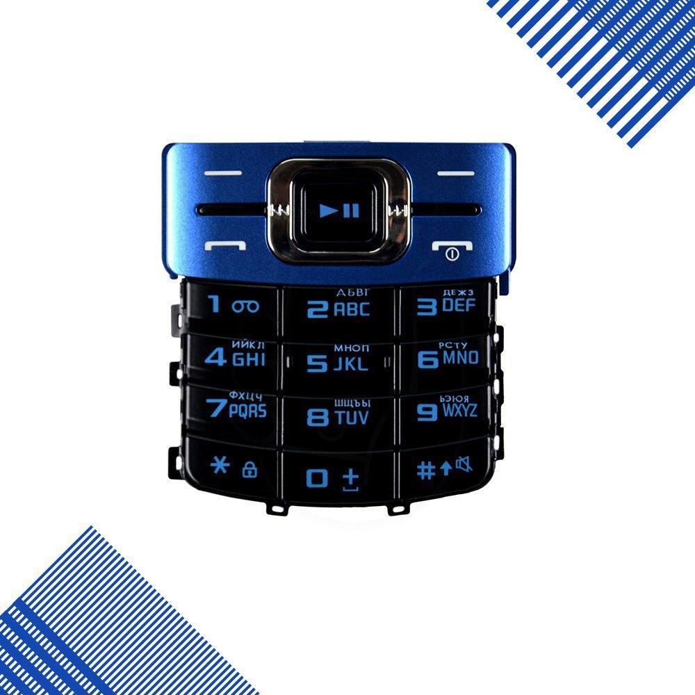 Клавиатура Samsung C3010, цвет черно-синий