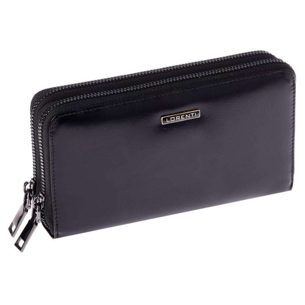 Женский кожаный кошелек LORENTI 77007-NIC Black