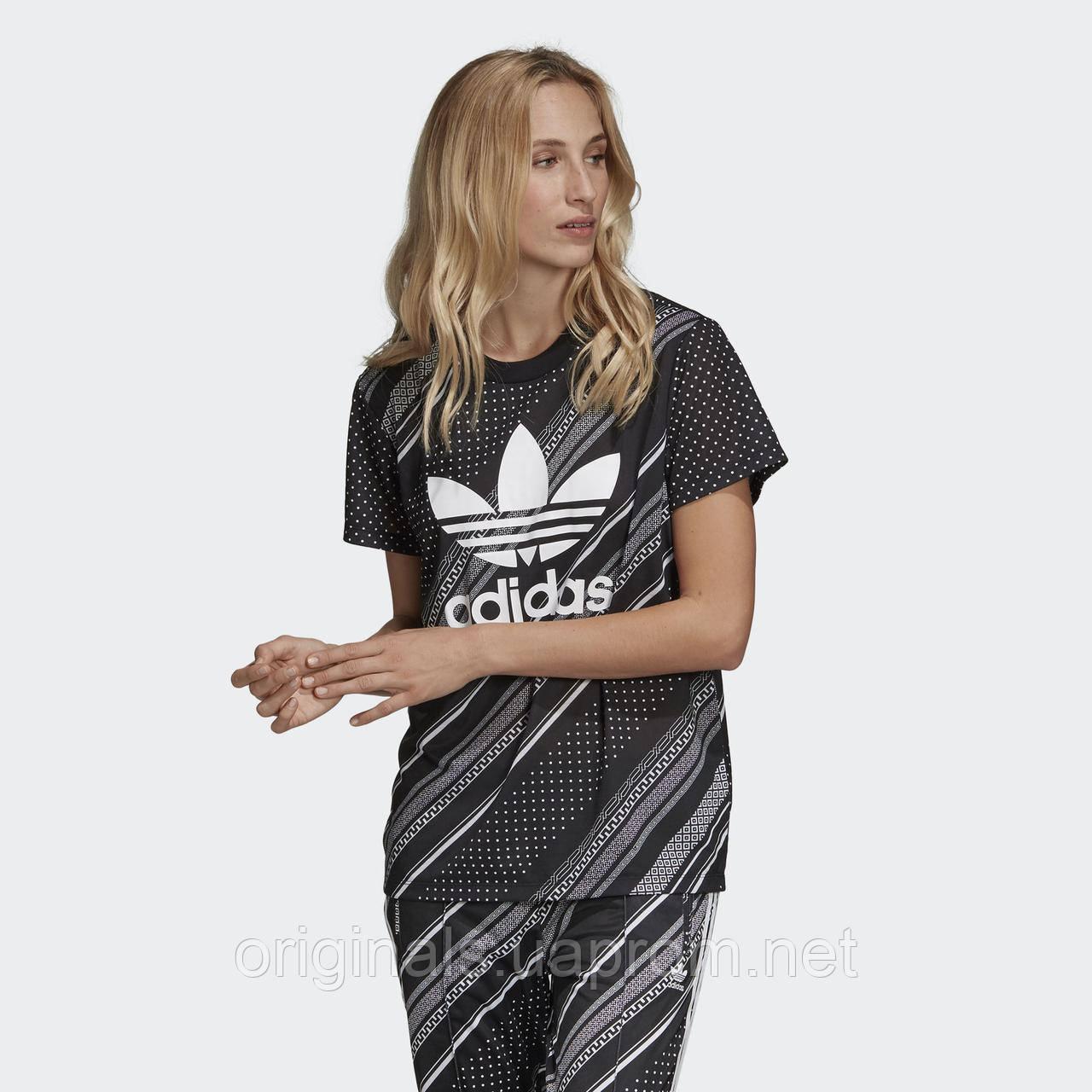 Спортивная футболка Adidas Boyfriend Trefoil DV2614