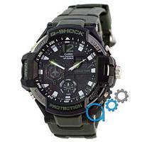 Наручные мужские часы Casio G-Shock GA-1100 Black-Militari Wristband