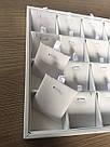 """Планшет 24 ячейки белый эко кожа 35 Х 24 Х 3 СМ"""", фото 3"""