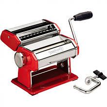 Тестораскатка-лапшерезка GreenPoint GP-380 красная ручная лапшерезка кухонная