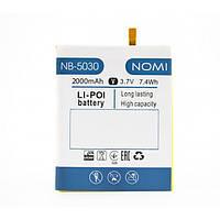 Аккумулятор 100% оригинал Nomi NB-5030 i5030 Evo X