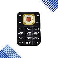 Клавиатура Nokia 7373, цвет черный