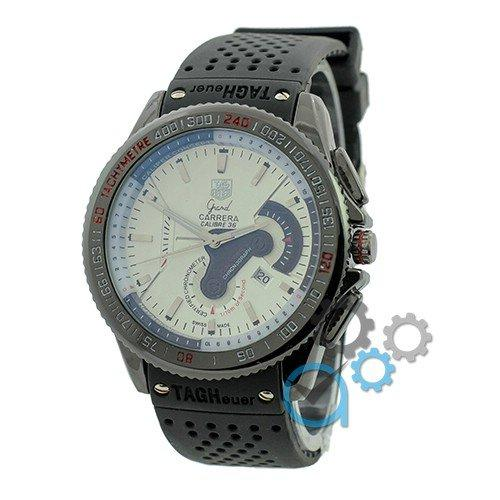 Наручные мужские часы Tag Heuer Carrera Calibre 36 Black-White Quartz