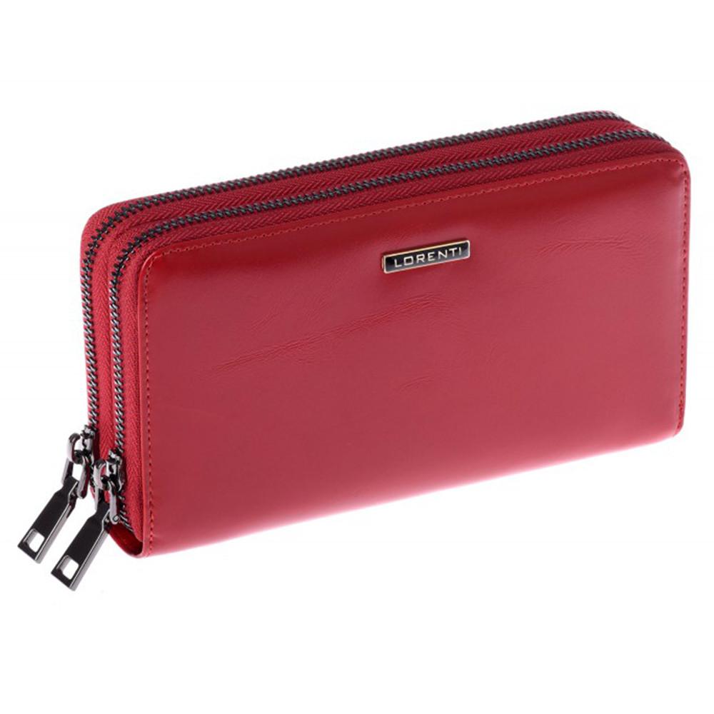 Женский кожаный кошелек LORENTI 77007-NIC Red