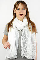 Стильный ажурный шарф