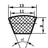 Ремень клиновой  А-560