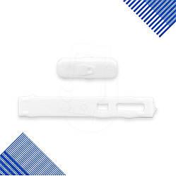 Накладка на кнопку блокировки Nokia X6, цвет белый