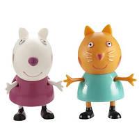 Герои мультфильма Свинки Peppa: Сюзи и Кэнди