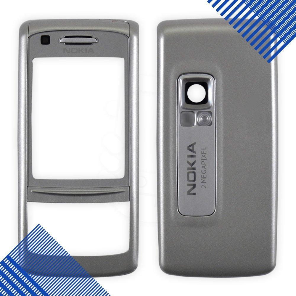 Панели Nokia 6280, цвет серебряный