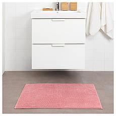 ТОФТБУ Килимок для ванної, рожевий, 50х80, 40422258, IKEA, ІКЕА, TOFTBO, фото 3
