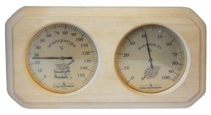 Термо-гигрометр для бани и сауны.