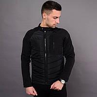 Мужская демисезонная куртка Юнайтед черная, фото 1