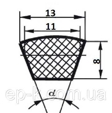 Ремень клиновой  А-1025