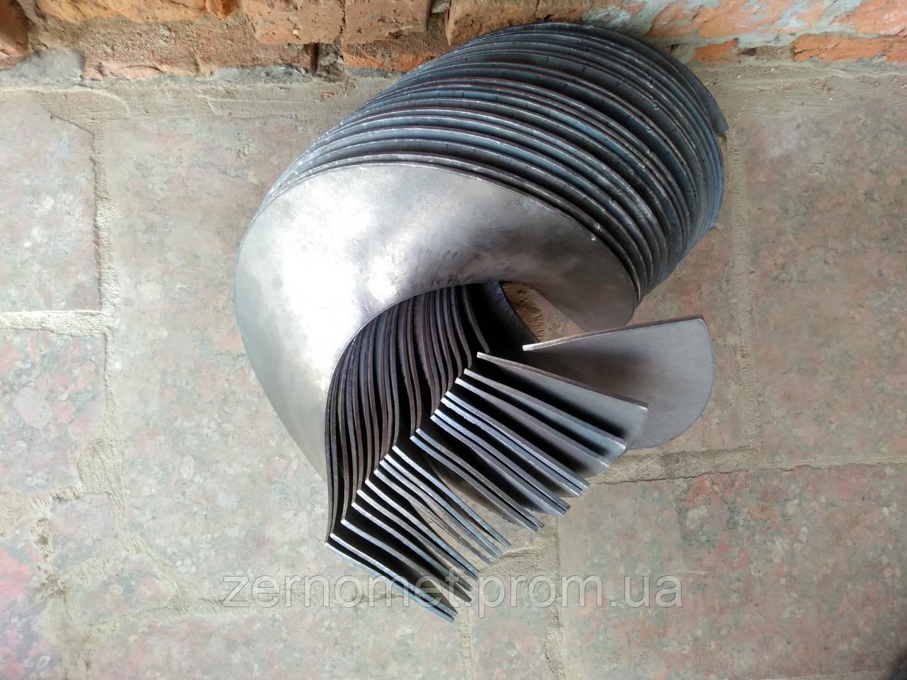 Виток шнека О-300 толщина 3мм