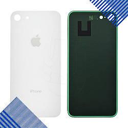 Задняя крышка iPhone 8, цвет серебро