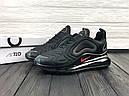 Кроссовки мужские черные Nike Air Max 720 Размер: 41-45, фото 3