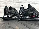 Кроссовки мужские черные Nike Air Max 720 Размер: 41-45, фото 7