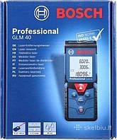 Лазерная рулетка(дальномер) Bosch GLM 40 Professional