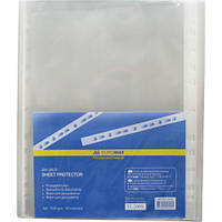 Файл для документов Buromax Jobmax А4+ 40 мкм глянец 100 шт