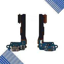 Шлейф с разъемом зарядки и микрофоном для HTC One mini 601n
